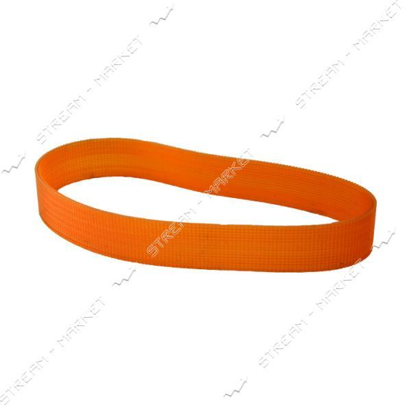 Ремень широкий оранжевый одна гладкая сторона 16PJ490-25.5
