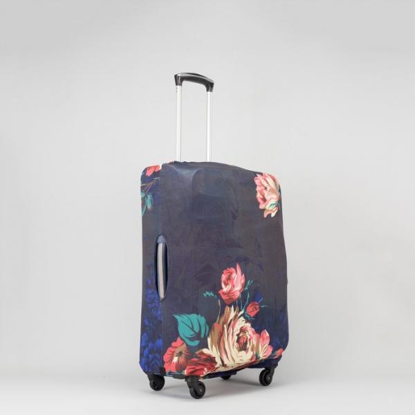 """Чехол для чемодана 20"""", цвет чёрный"""