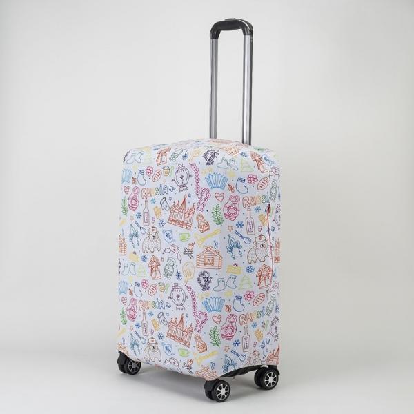 """Чехол для чемодана 20"""", 36*24*49, """"Северный полюс"""""""