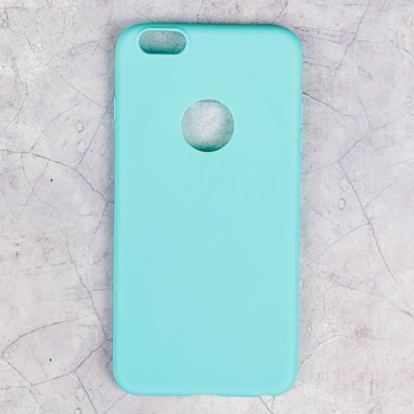 Накладка силиконовая для iPhone 6 Plus, зеленая