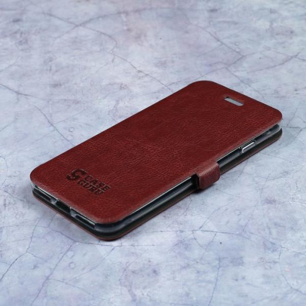 Чехол-книжка Caseguru Magnetic Case iPhone 7 Насыщенный коричневый