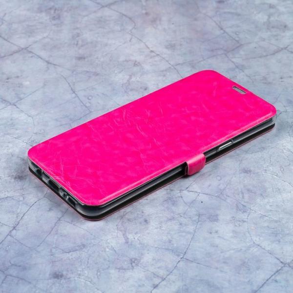 Чехол-книжка Caseguru Magnetic Case Samsung Galaxy S8 Plus Глянцево-розовый