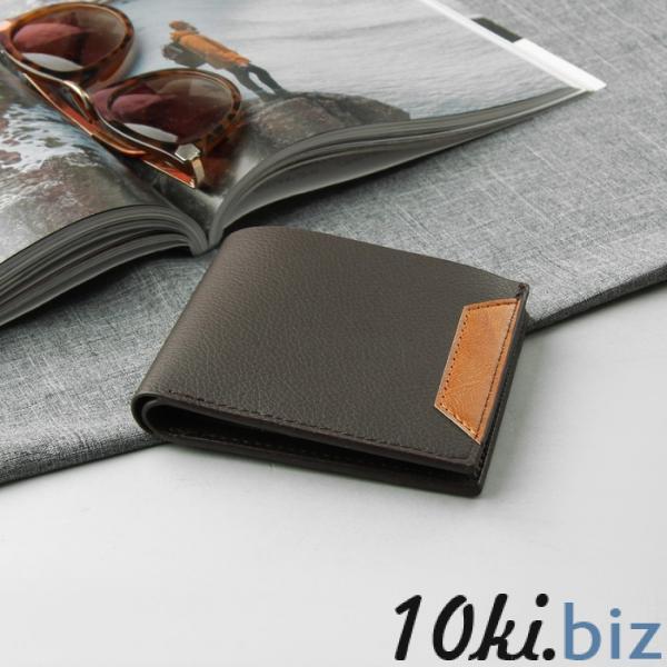 Портмоне мужское, 2 отдела, для карт, для монет, для sim-карты, цвет коричневый Мужские кошельки на Электронном рынке Белоруссии