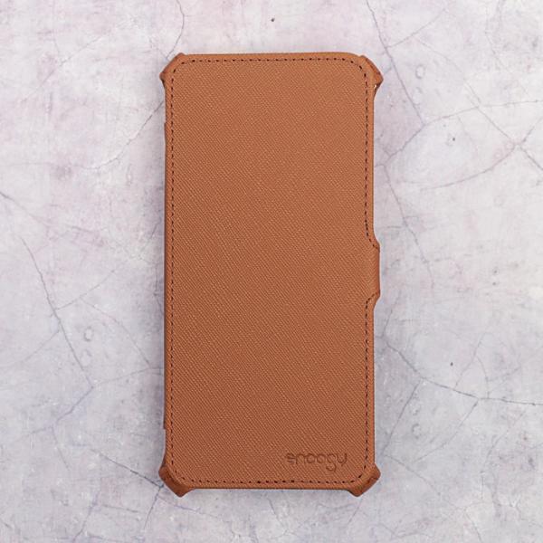 Чехол-книжка Snoogy для Xiaomi Mi 5S, иск. кожа, Коричневый