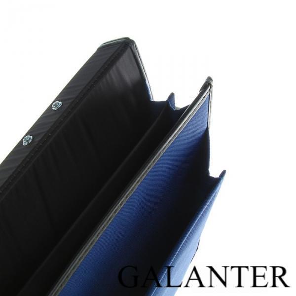 Фото Сумки, Мужские сумки, Деловые сумки Портфель деловой, ткань, 380 х 290 х 10 мм, «Сосново», синий, с плечевым ремнем