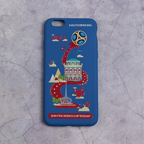 Чехол 2018 FIFA WORLD CUP RUSSIA, iPhone 6/6S, матовое покрытие
