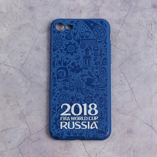 Чехол FIFA WORLD CUP RUSSIAN 2018, iPhone 7/8, матовое покрытие