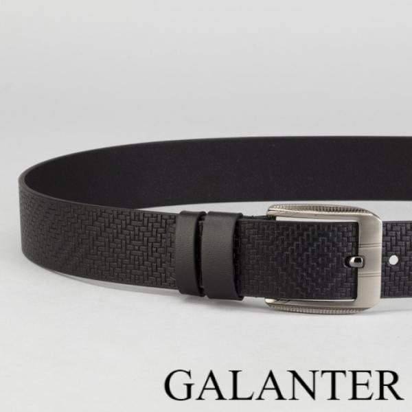 Фото Ремни Ремень мужской, пряжка тёмный металл, ширина - 4,5 см, цвет чёрный