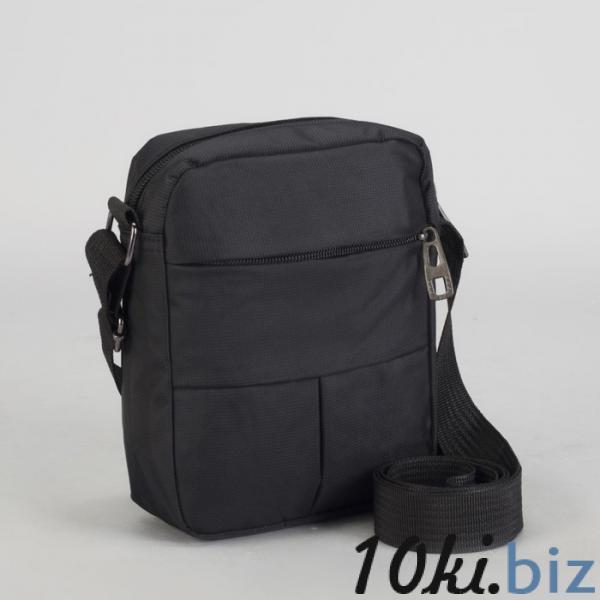 Планшет мужской, отдел на молнии, 2 наружных кармана, регулируемый ремень, цвет чёрный Мужские сумки и барсетки на Электронном рынке Белоруссии