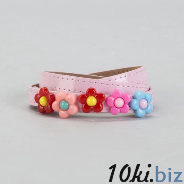 Ремень детский, гладкий, ширина - 1,3 см, пряжка металл, цвет розовый купить в Лиде - Ремни и подтяжки детские для девочек