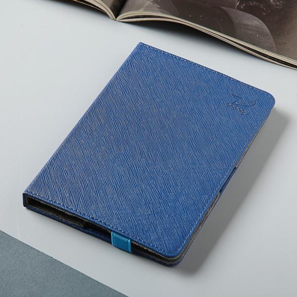 Чехол для эл. книги PocketBook 614/615/624/625/626/640, и/кожа, синий