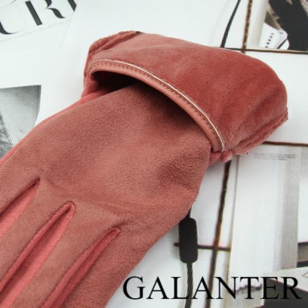Фото Перчатки Перчатки женские безразмерные, без подклада, для сенсорных экранов, цвет пудра