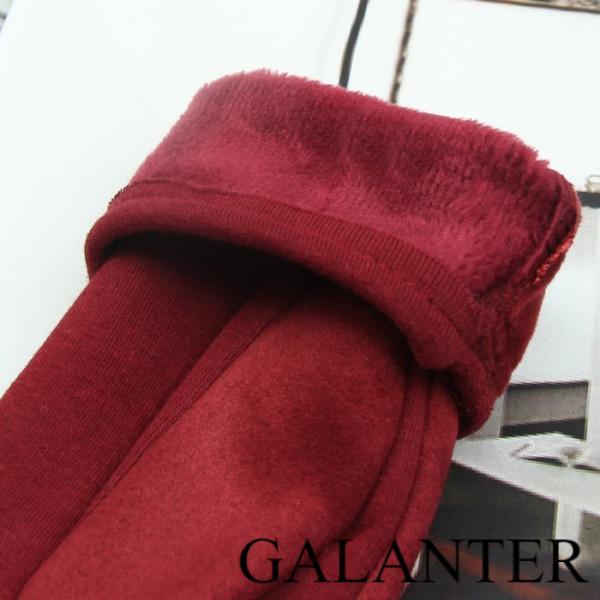 Фото Перчатки Перчатки женские безразмерные, без подклада, для сенсорных экранов, цвет бордовый