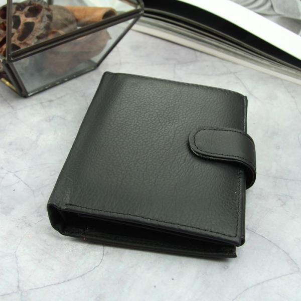 Портмоне мужское 3 в 1 (автодокументы+паспорт), 2 отдела, для карт, для монет, цвет чёрный