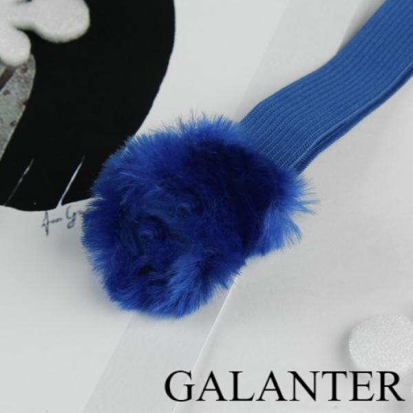 Фото Перчатки, Нетеряшки, Детские нетеряшки Нетеряшки детские с искусственным мехом, цвет синий