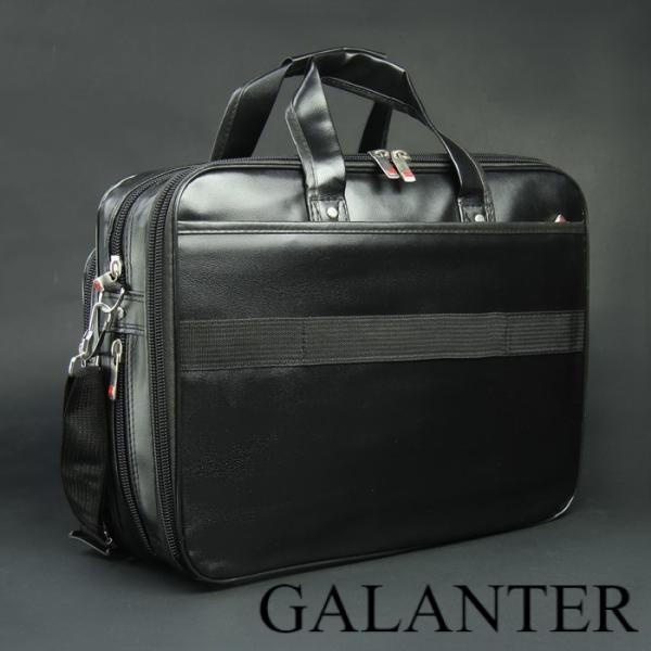 Фото Сумки, Мужские сумки, Деловые сумки Сумка мужская, 2 отдела на молниях, 3 наружных кармана, крепёж для чемодана, длинный ремень, цвет чёрный