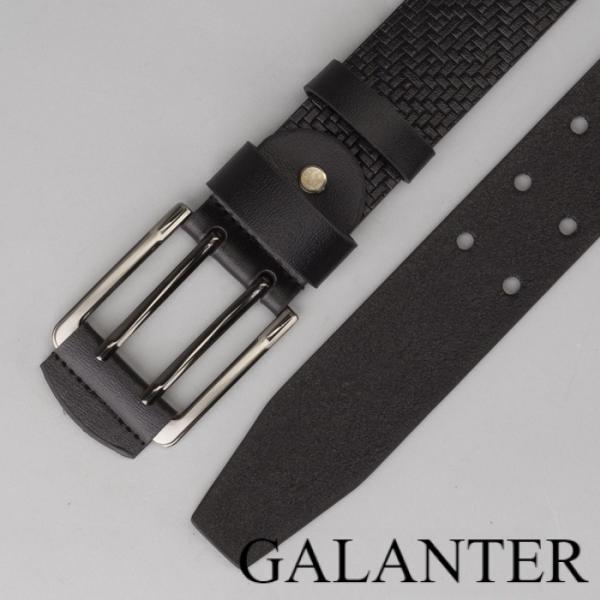 Фото Ремни Ремень мужской, пряжка металл, ширина - 4 см, цвет чёрный