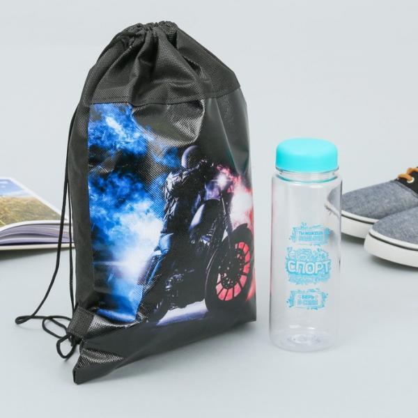 """Мешок для обуви и бутылка для воды """"Самому лучшему"""""""