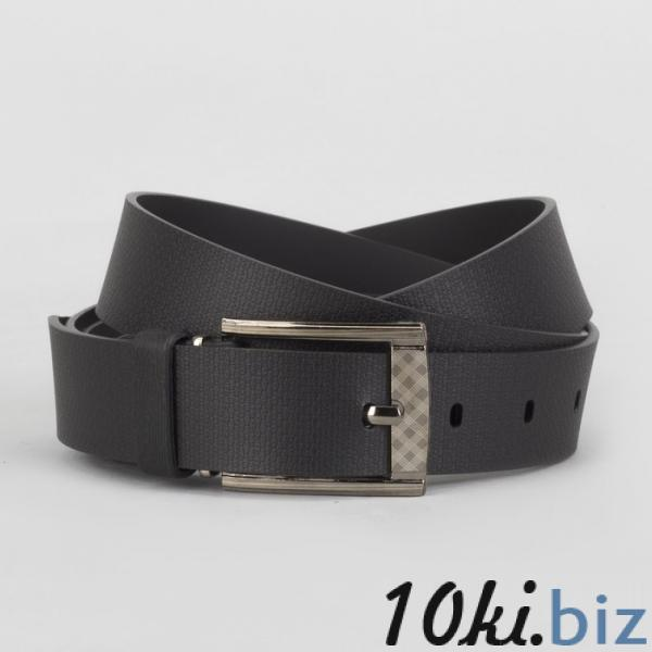 Ремень мужской, пряжка металл, ширина - 3 см, цвет чёрный купить в Гродно - Ремни и пояса