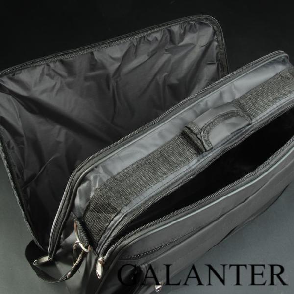 Фото Сумки, Мужские сумки, Деловые сумки Сумка деловая, 2 отдела на молниях, 2 наружных кармана, длинная стропа, цвет чёрный