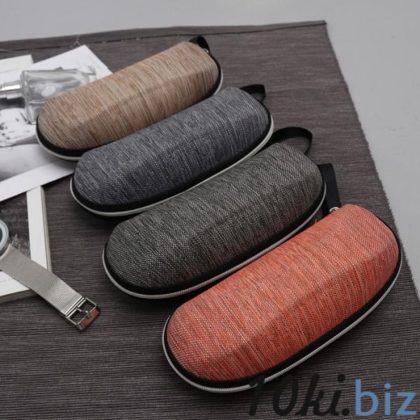 Футляр для очков, отдел на молнии, с ручкой, цвет МИКС купить в Беларуси - Аксессуары для очков и контактных линз