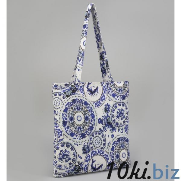 Сумка текстильная, отдел на молнии, без подклада, цвет белый купить в Гродно - Пляжные сумки