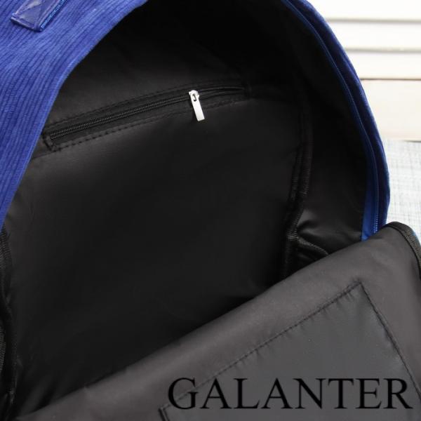 Фото Рюкзаки Рюкзак молодёжный, отдел на молнии, наружный карман, цвет синий