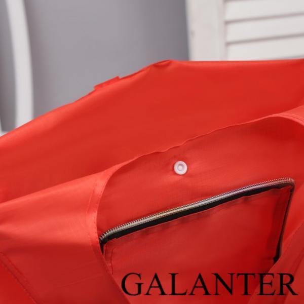 Фото Хозяйственные сумки Сумка хозяйственная складная, отдел на кнопке, цвет красный
