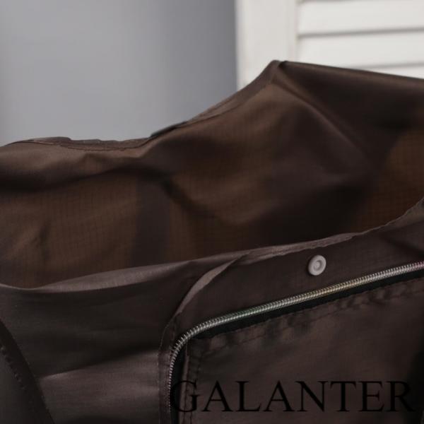 Фото Хозяйственные сумки Сумка хозяйственная складная, отдел на кнопке, цвет коричневый