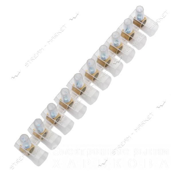 Клеммная колодка концевая 10*1/6мм - Элементы крепежа кабеля на рынке Барабашова