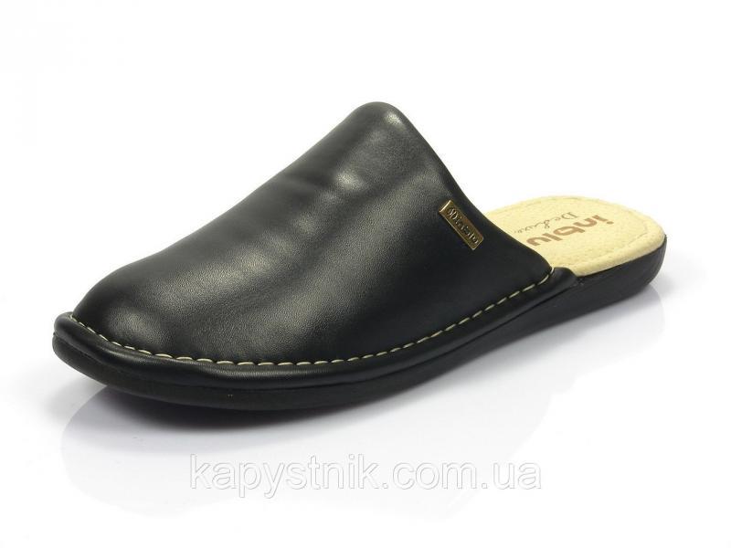 Тапочки мужские р.40 ТМ Inblu: VN-D2/014 черный