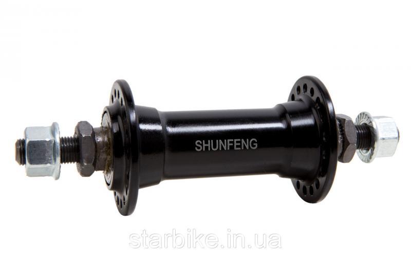 Втулка пер. 36H Al ED ось - 10мм SF-A201F ShungFeng
