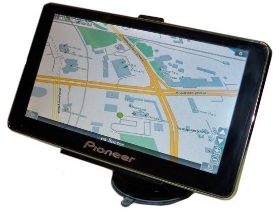 "GPS навигатор Pioneer 5"""
