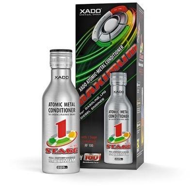Кондиционер металла XADO AMC Maximum 1Stage с Ревитализантом для защиты и ремонта всех видов двигателей на ходу.
