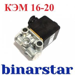 Фото 37. Электрооборудование КЭМ 16-20 - Клапан электромагнитный АДЮИ.453644.008 (аналог КЭБ 420-081) байонетный разъем