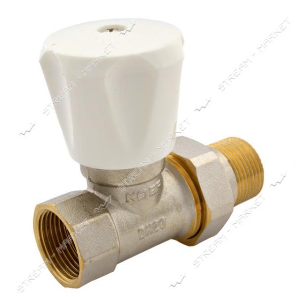 KOER Кран радиаторный прямой вент. (верх) 3/4' (903)
