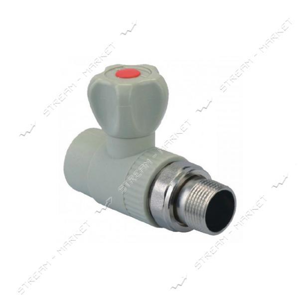 Кран радиаторный KOER PPR прямой 25x3/4 (K0159.PRO)