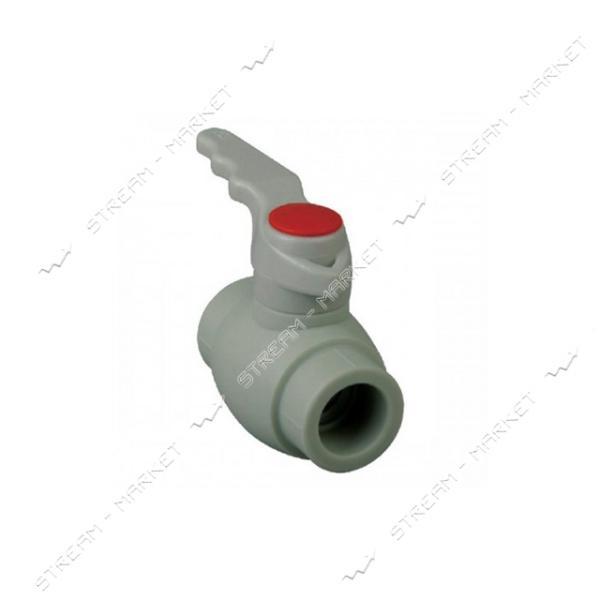 Кран шаровый KOER PPR для горячей воды 20 (ручка, K0175.PRO)