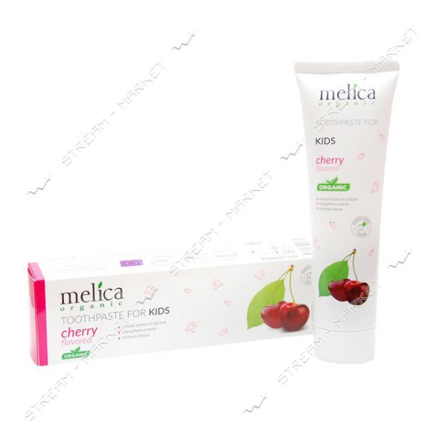 Зубная паста для детей со вкусом вишни Melica Organic 100 мл