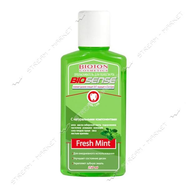 Ополаскиватель для полости рта Bioton Cosmetics Fresh mint 250 мл