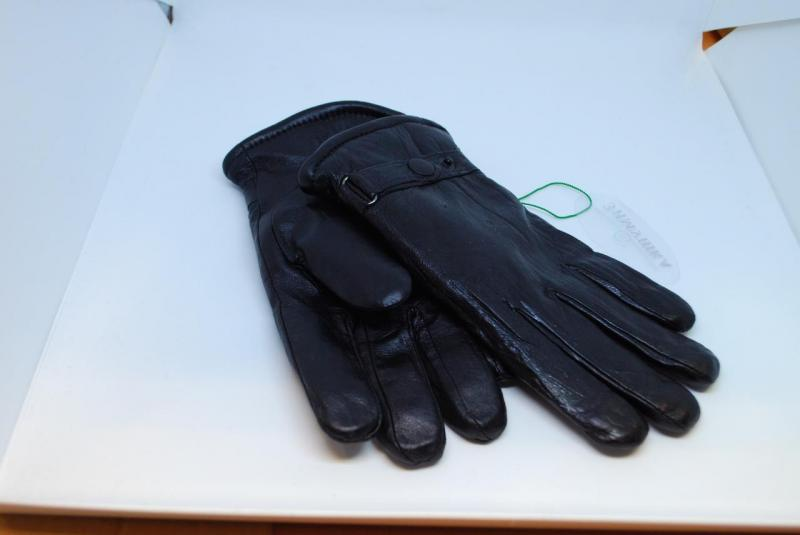 Перчатки кожаные мужские Зимушка 2084