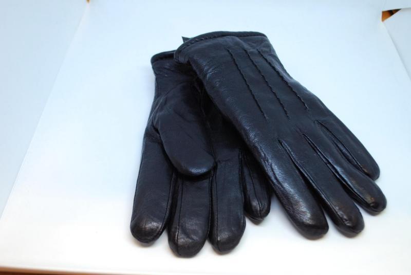 Перчатки кожаные мужские Зимушка 2088