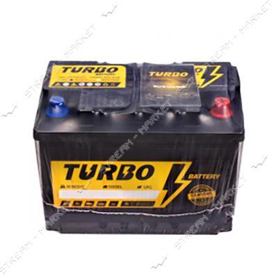 Аккумулятор TURBO 75 AH 700А EN SMF0 R Европа 278х175х190
