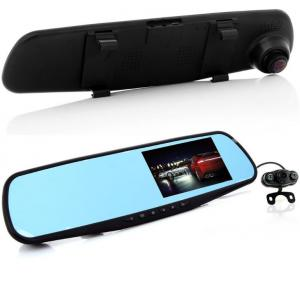 Фото Товары для автомобиля Видеорегистратор Vehicle Blackbox DVR + компрессор