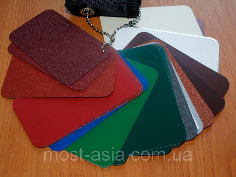 Цветной лист металлический гладкий