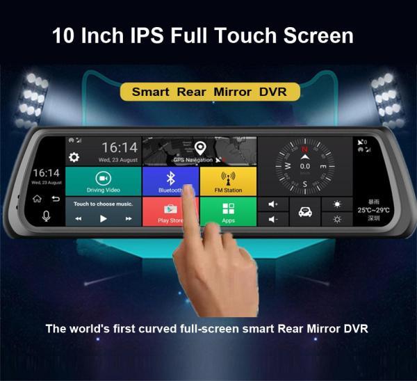 """Регистратор-навигатор-зеркало FX 10""""+GPS+3G+WiFi+Bluetooth+16Гб+сенсорный экран"""