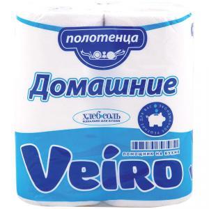 Полотенца бумажные в рулонах Veiro