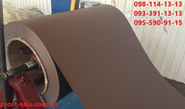 Металлический лист гладкий, Купить гладкий лист из металла коричневого