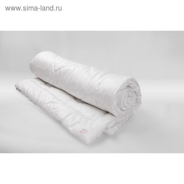 Одеяло Миродель всесезонное, искусственный лебяжий пух, 200*220 ± 5 см, микрофибра, 200 г/м2