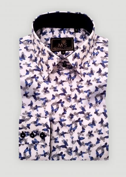 4b7282844e167b2 Рубашка женская с цветным принтом, Купить в Киеве, цена 1465 грн./шт ...